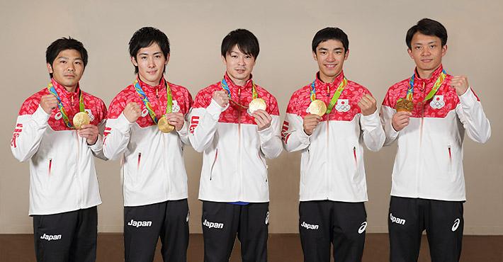 体操男子日本代表 チームの絆で...